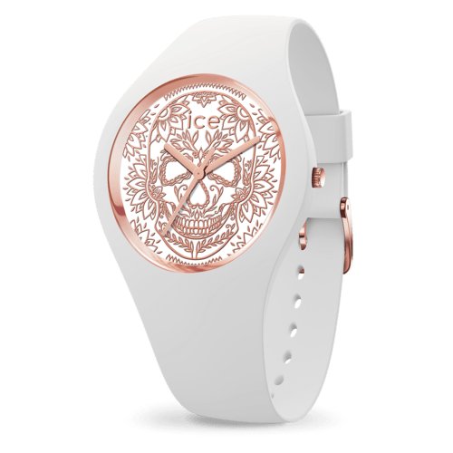 Calavera white rose-gold