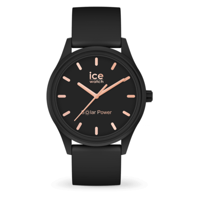 ICE solar power - Black rose-gold